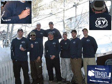3rd Annual Squaw Valley Trip 2010 T-Shirt Photo