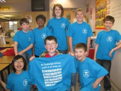 Challenge School Pi Day T-Shirt Photo