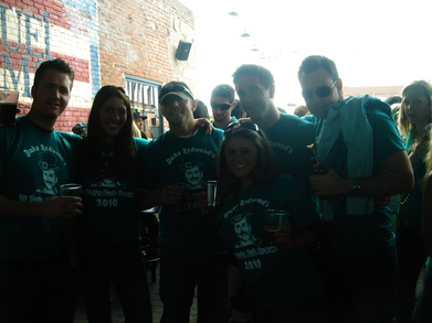 Spread A Little Green With Duke Redwood's Pub Crawl   Denver T-Shirt Photo