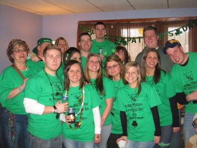 St. Patricks Day 2010 T-Shirt Photo