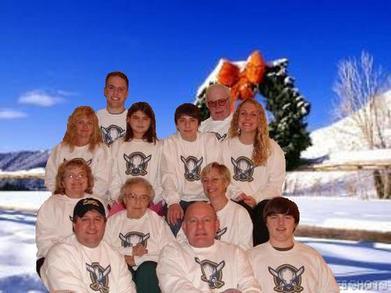 Christmas Eve In Buffalo T-Shirt Photo
