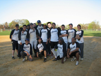 2007 Stony Brook University Softball Intramural Champions T-Shirt Photo