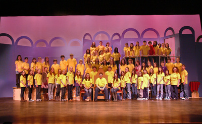 Medford Panther Players   Beauty And The Beast T-Shirt Photo
