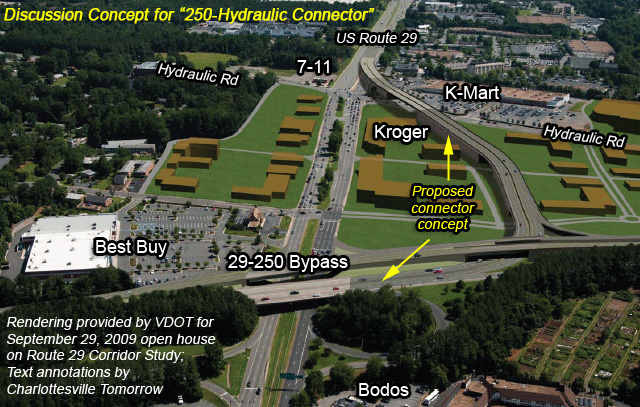 New VDOT Study Of US Recommends Use Of Western Bypass Route - Us route 29 map