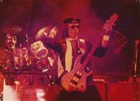 Erik _eski_ scott with alice cooper special forces tour1981