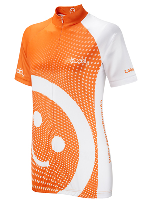 Orange 2000 miles Women's Cycling Jersey