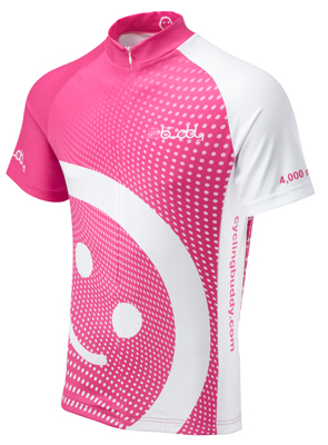 Cycling Buddy Cycling Jersey 4000 miles