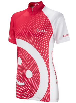 Womens 8000 mile cycling Jersey