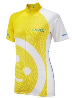 CyclingBuddy Yellow Jersey, 12,000 miles