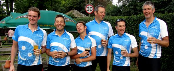 CyclingBuddy.com - the finish line