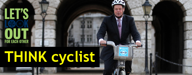 Think Cyclist Campaign