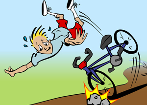 Falling off your bike - Cycling News - cyclingbuddy.com