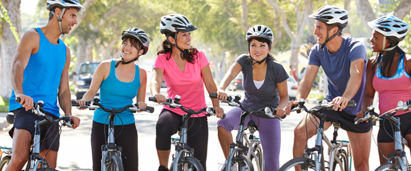 Riding better in a cycling group
