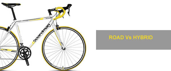 road bike or hybrid bike