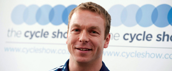 SIR CHRIS HOY TO VISIT THE CYCLE SHOW