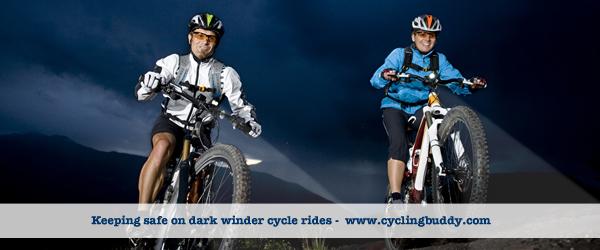 Safe cycling on dark winter nights