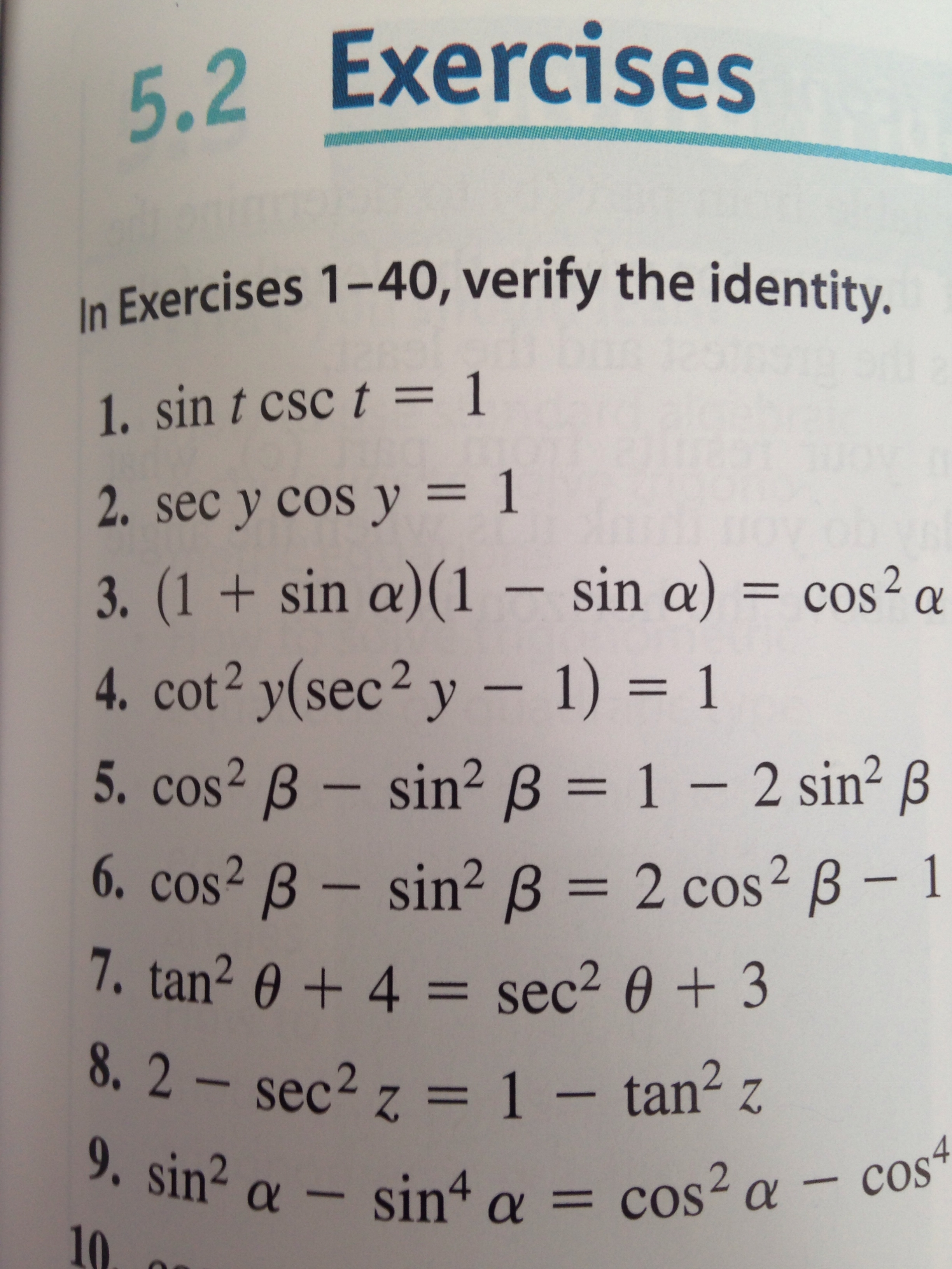 i m not sure how to verify trig identities help please tutor enlarge