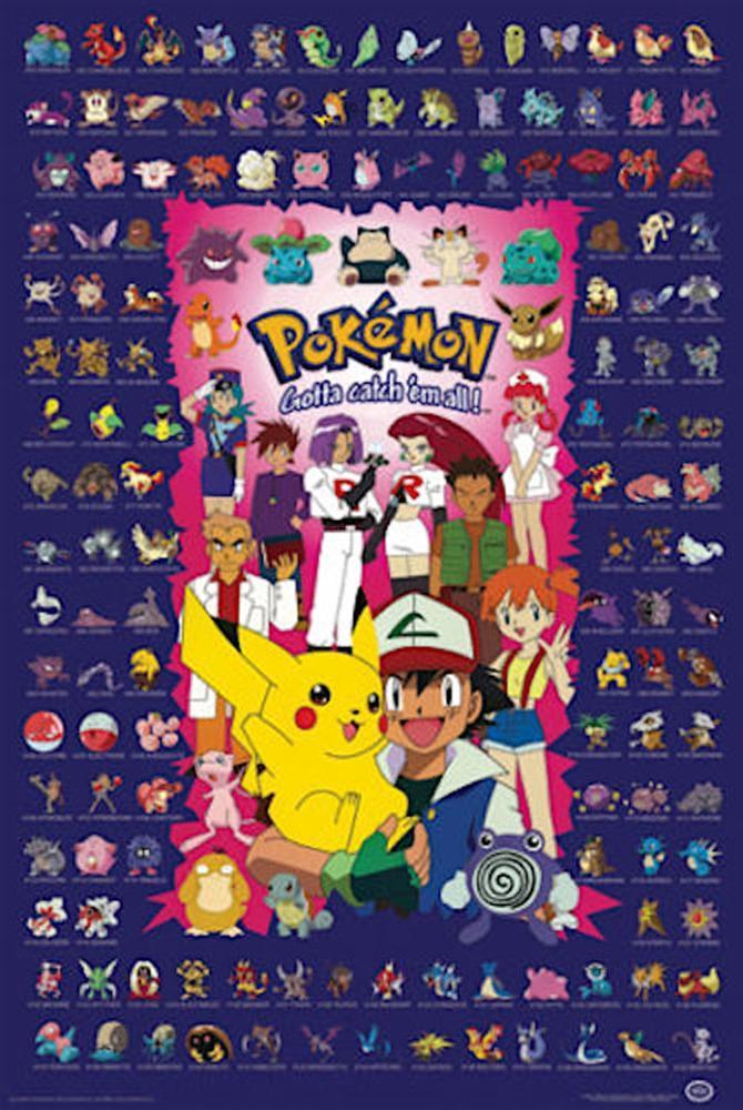 Pokemon Gotta Catch Em All Poster