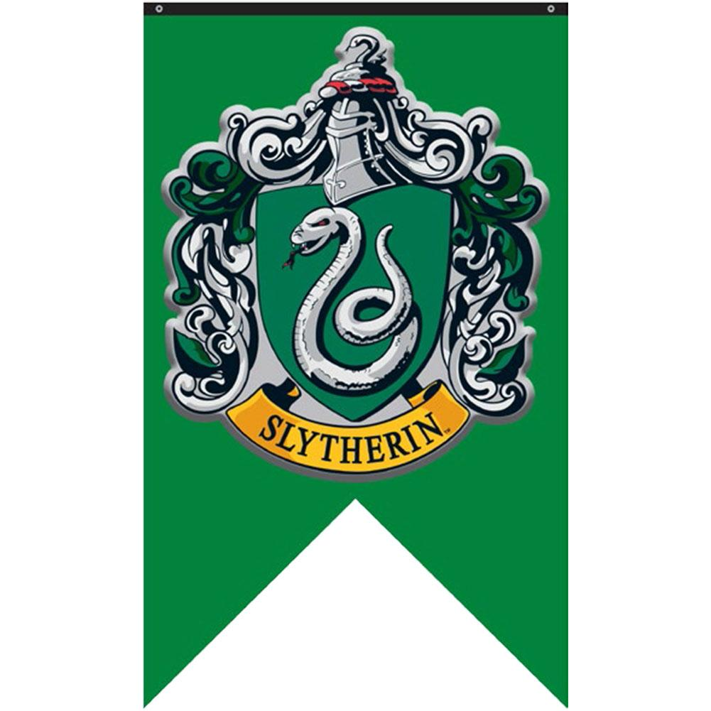 Harry Potter Slytherin 30x50 Polyester Banner Banner, from Calhoun for ...