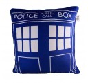 Doctor Who Licensed 16 Inch Tardis Design Square Throw Pillow