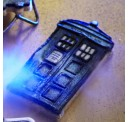 Doctor Who TARDIS and Angel Cookie Cutters Imported From The UK