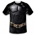 Batman Begins Costume Single Sided Sublimation Adult T-shirt