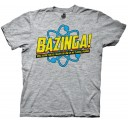 The Big Bang Theory Bazinga! Once Again Adult T-Shirt