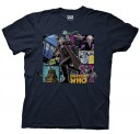 Doctor Who Comic Doctor Adult T-Shirt