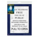 Doctor Who Door Sign Full Size Flexible Vinyl Magnet