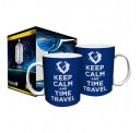 Doctor Who Keep Calm and Time Travel Boxed Gift Mug