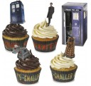 Doctor Who Tardis Cupcake Kit Imported From The UK
