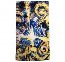 "Doctor Who Van Gogh Exploding Tardis Licensed Beach Bath Towel 60"" x 30"""
