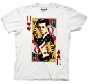 Doctor Who Playing Card Adult T-Shirt
