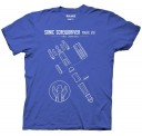 Doctor Who Sonic Screwdriver Mark VIII (11th Doctor) Adult T-Shirt