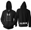 Doctor Who Follow Me Zip Hoody