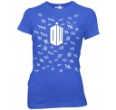 Doctor Who Tally Marks Women's / Junior  T-Shirt