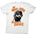 The Hangover 3 I Bought a Giraffe adult t-shirt