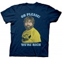 The Hangover 3 Oh Please We're Rich adult t-shirt