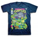 TMNT Comic Book Cover Adult T-Shirt