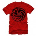 Game of Thrones Targaryen Onecolor Adult T-shirt