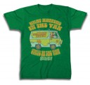 Scooby Doo Scooby What Happens in the Van  Adult T-Shirt