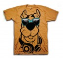 Scooby Doo Glasses Adult T-Shirt