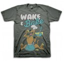 Scooby Doo Wake and Bake  Adult T-Shirt