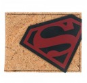 Superman Cork Bi-Fold Wallet