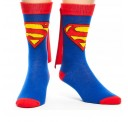 Superman Blue Cape Crew Sock
