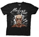 Attack on Titan Dark Titan Group Adult T-shirt