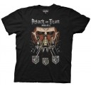 Attack on Titan Titan in shadows Adult T-shirt