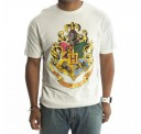 Harry Potter All House Crest White T-Shirt