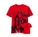 Iron Man 3 Stained Black Adult T-Shirt