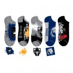 Doctor Who Mens Lowcut Socks (5 pack)
